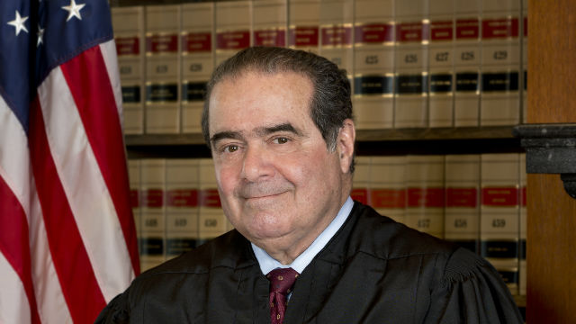 Supreme Court Justice Antonin Scalia. Official portrait