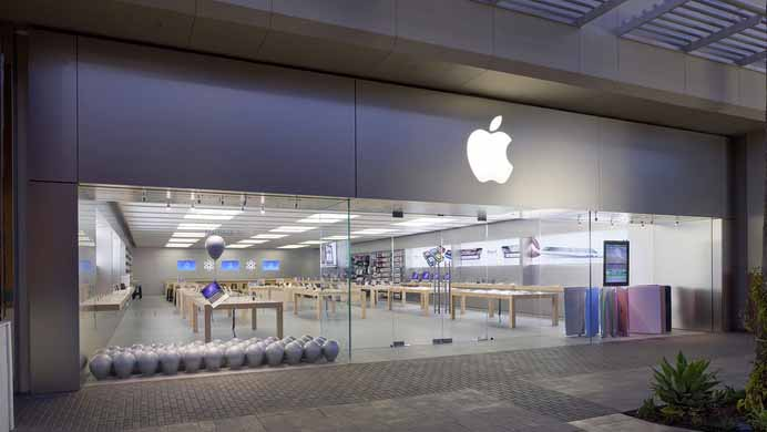 Apple store at Fashion Valley Mall