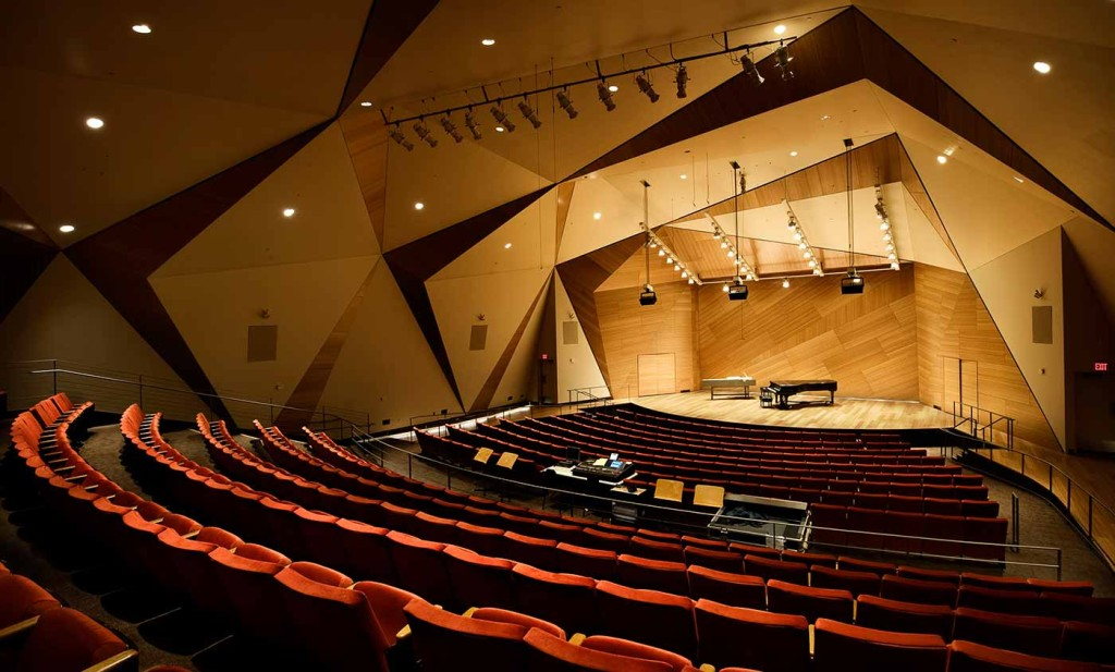 The Conrad Prebys Concert Hall at UC San Diego. Courtesy UCSD