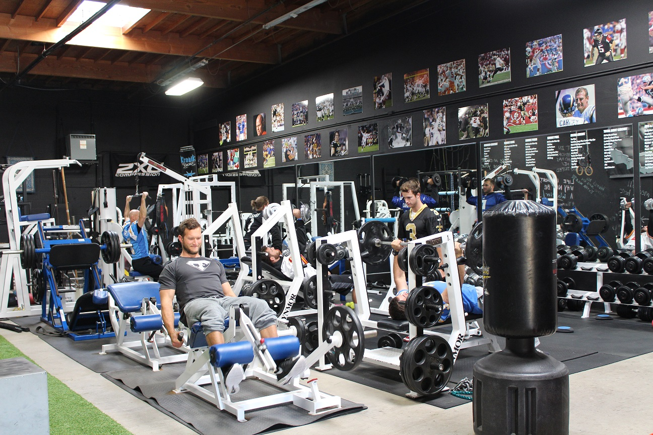 Former Nfl Player Opens Gym In Carlsbad Times Of San Diego