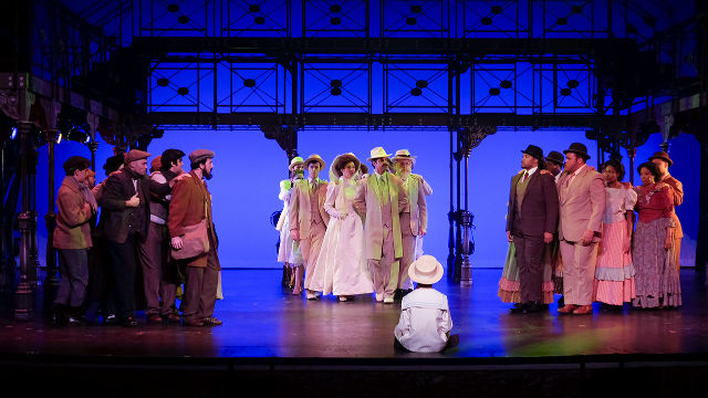 "A scene from ""Ragtime"" at San Diego Musical Theatre."