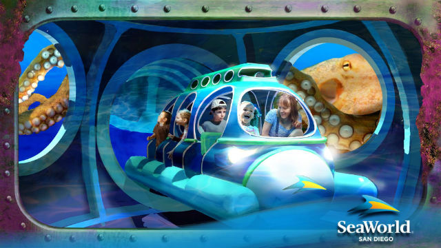 "A rendering of SeaWorld San Diego's planned ""Ocean Explorer"" attraction. Courtesy SeaWorld"