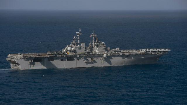 sailors  marines of boxer ready group enter 7th fleet area