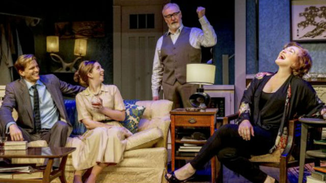 "A scene from Intrepid Theatre Company's production of ""Who's Afraid of Virginia Woolf?"""