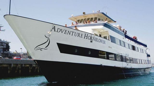 The Adventure Hornblower. Courtesy Hornblower Events & Cruises