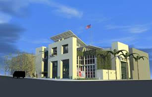 Rendering of Bayside Fire Station. Courtesy City of San Diego