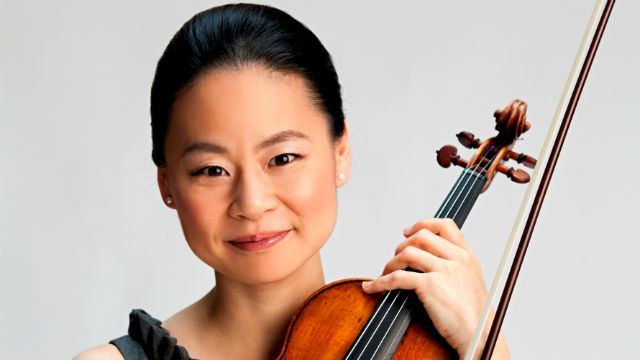 Classical violinist Midori. Photo by Timothy Greenfield-Sanders