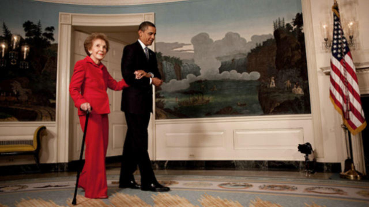 Former First Lady Nancy Reagan S In