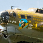In 2016, the B-17G Flying Fortress was on display in El Cajon