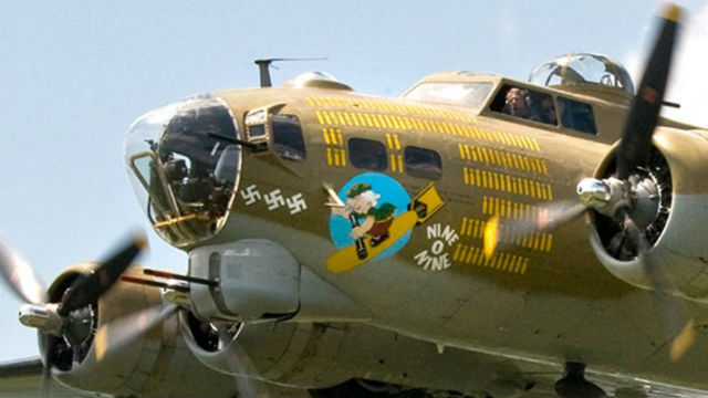 The Boeing B-17G Flying Fortress that will be on display in El Cajon. Courtesy The Collings Foundation