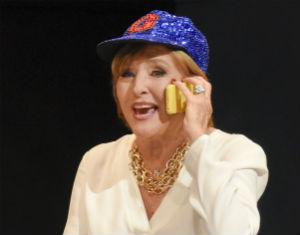 """Frederica von Stade stars as Mrs. Winnie Flato in """"Great Scott."""" Photo by Karen Almond"""