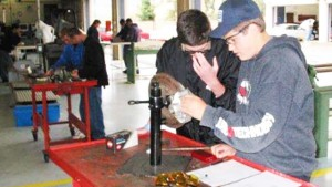 Local high school students also will vie in Auto Skills Day contests. Photo via Cuyamaca College
