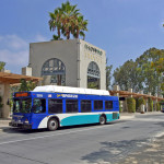 North County Transit District bus