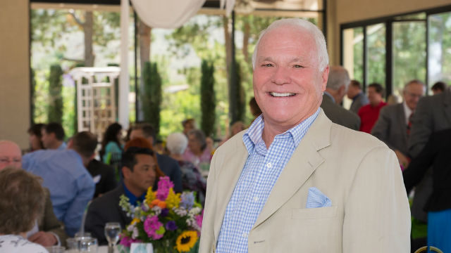 Bill Griffith at Grossmont Healthcare District's Healthcare Heroes luncheon.