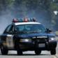 A California Highway Patrol cruiser.