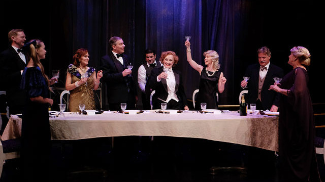 "A scene from ""Dinner With Marlene"" at Lamb's Players Theatre."