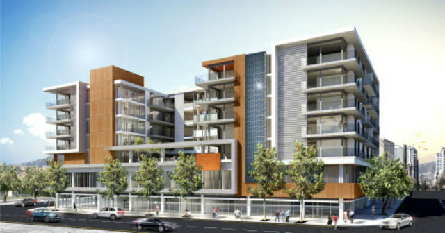A rendering of the F11 development in downtown San Diego's East Village.
