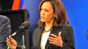 Attorney General Kamala Harris defends herself on several fronts. Photo by Ken Stone