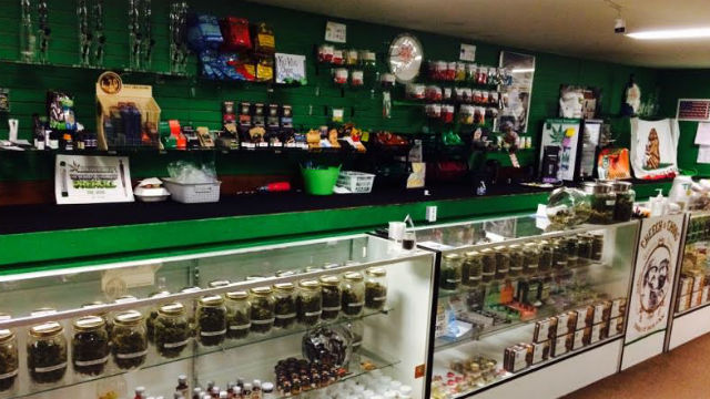 The interior of Limitless Care Collective in Pacific Beach that was raided Tuesday. Courtesy City Attorney's Office