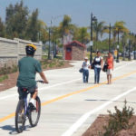 A SANDAG-sponsored bikeway project in San Diego County.