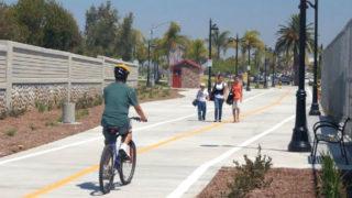 A SANDAG-sponsored bikeway project in San Diego County.