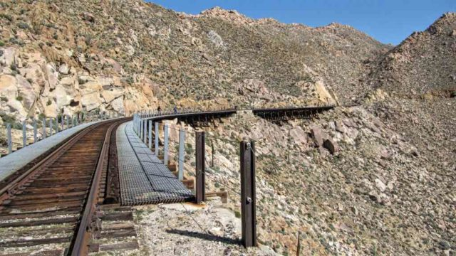Carrizo Gorge Trestles. Photo via Wikimedia Commons