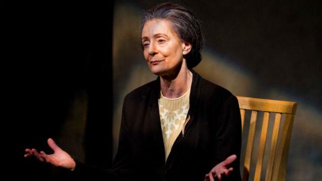 "Rosina Reynolds in ""Golda's Balcony"" at New Village Arts Theatre in Carlsbad."