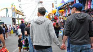 Out at the Fair is the San Diego County Fair's celebration of the LBGT community. Photo by Chris Stone