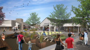 Retail businesses in the revised plan for One Paseo in Carmel Valley.