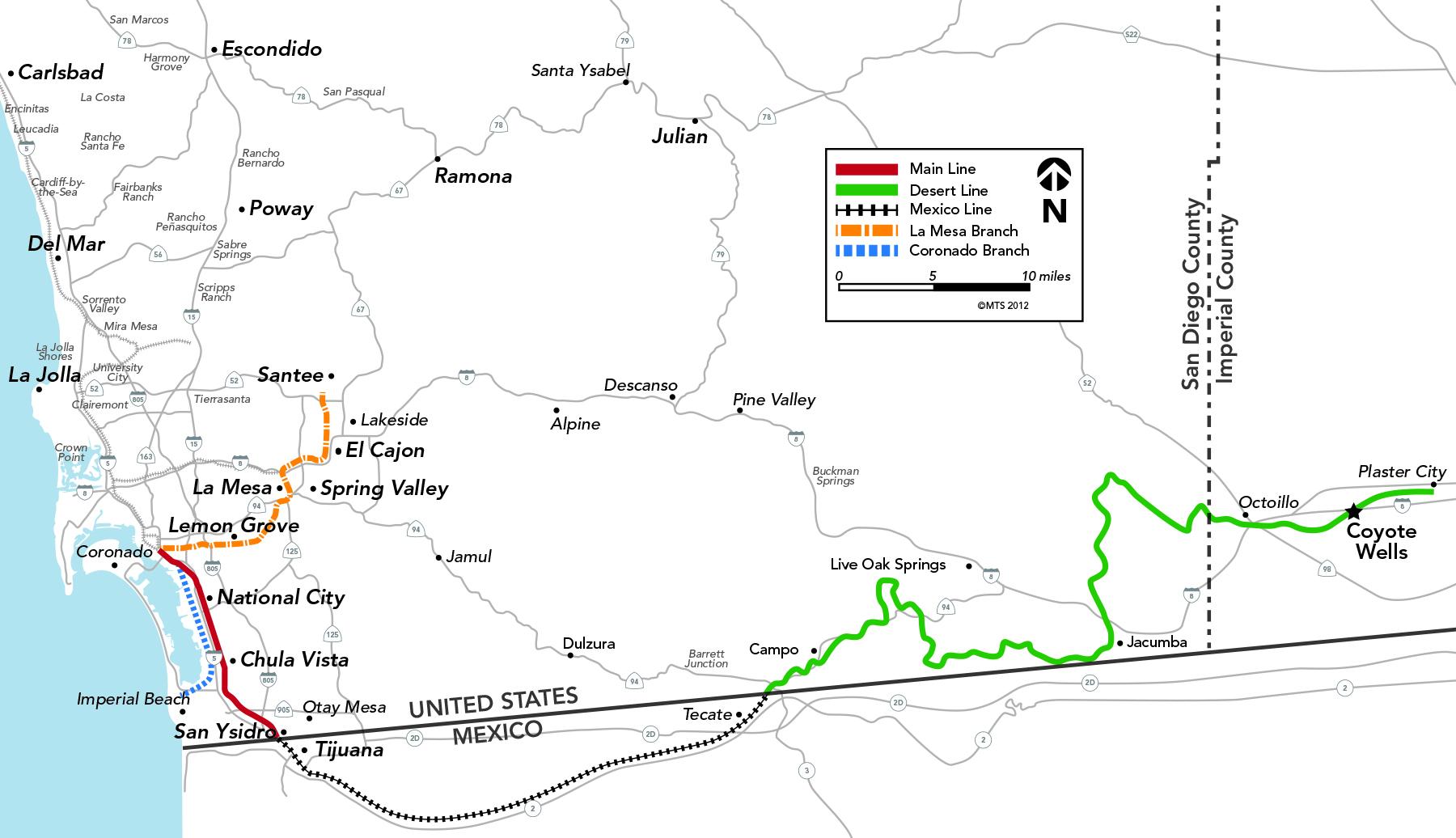 Mts Cheers Deal To Rebuild Desert Line Railway For Tijuana