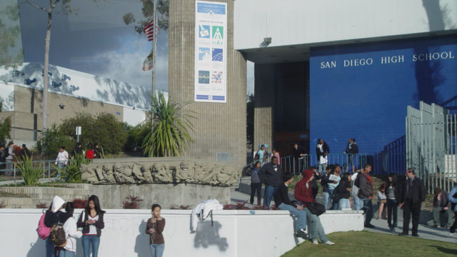 San Diego High School. Photo via Wikipedia