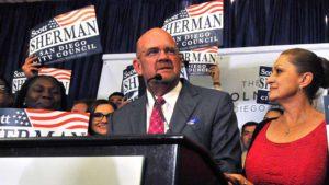 Councilman Scott Sherman. Photo by Chris Stone