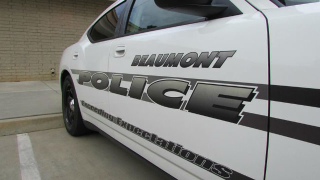 A Beaumont Police cruiser. Courtesy of the department
