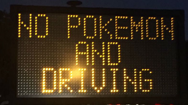 This sign greeted drivers coming off the Coronado Bridge on Thursday morning. Courtesy Coronado Police