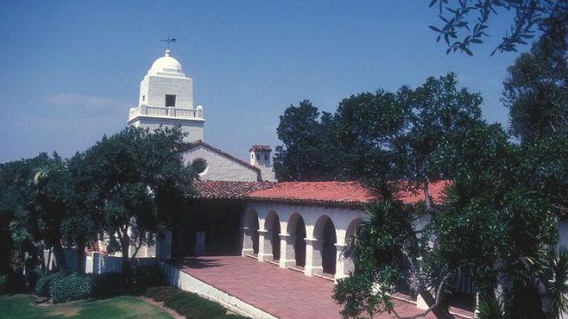 The Junipero Serra Museum in Presidio Park. Photo by Jerrye and Roy Klotz via Wikimedia Commons