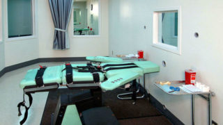Lethal injection room at San Quentin State Prison
