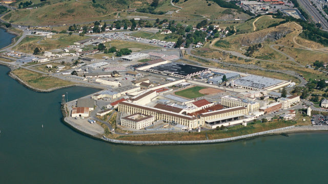 San Quentin State Prison. Photo via Wikimedia Commons
