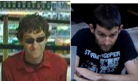 "A bank robbery suspect officials dubbed as the ""Hipster Bandit."" Courtesy of FBI"