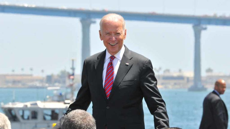 Vice President Joe Biden in San Diego