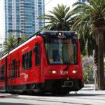 San Diego Trolley Downtown