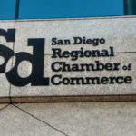 San Diego Regional Chamber of Commerce sign