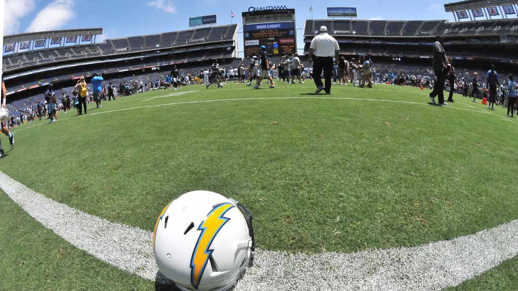 Chargers Sign Lease For Office Hq Practice Facility In