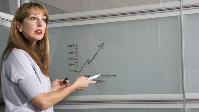 A college teacher. Photo via Pixabay
