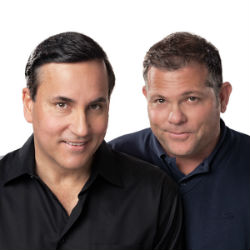 Steve Harman (left) and Mike Costa
