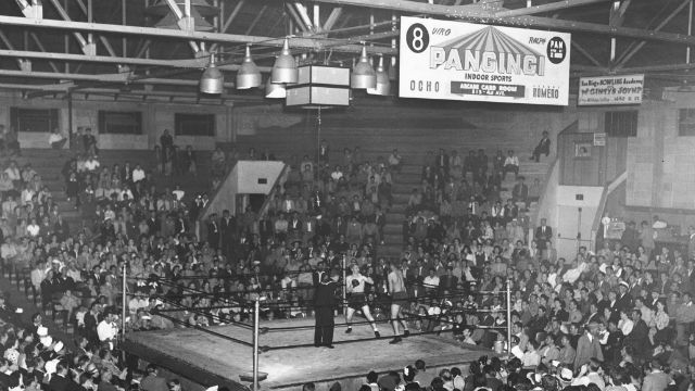 The Coliseum Federal Athletic Club in its heyday.
