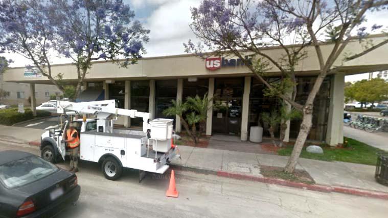 Bank Gets Money Back After Hillcrest Heist Suspect 53 Found In - Us-bank-google-maps