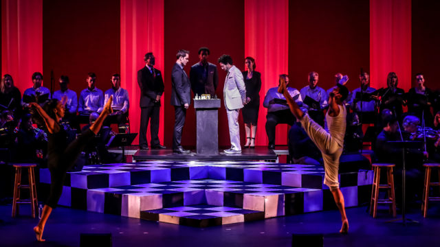 """The concert version of """"Chess"""" by the Barn Stage Company in Temecula."""