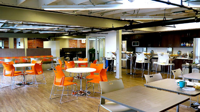 A view of the expanded DeskHub San Diego co-working space in Little Italy. Courtesy DeskHub