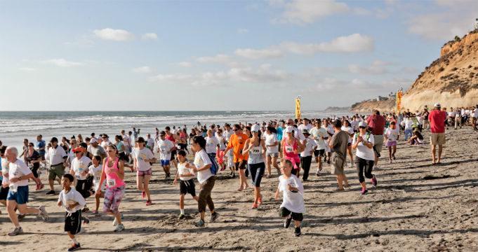 Last year's Diabetes Prevention Walk in Solana Beach.