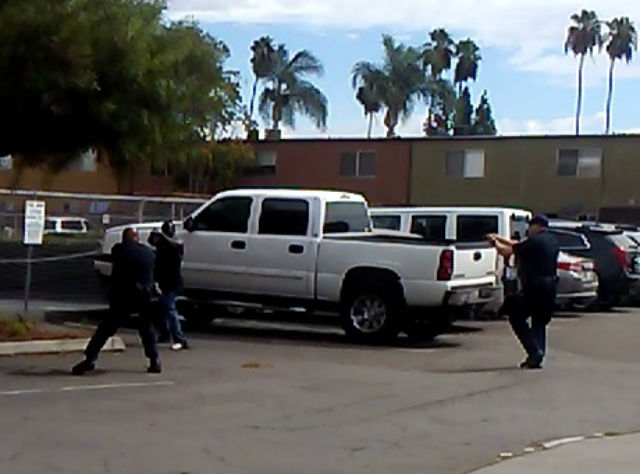 Image from video released by the El Cajon Police Department.